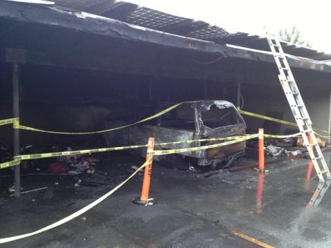 Solar Panel Fire Insurance