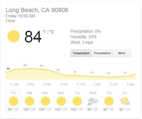 Long Beach Weather